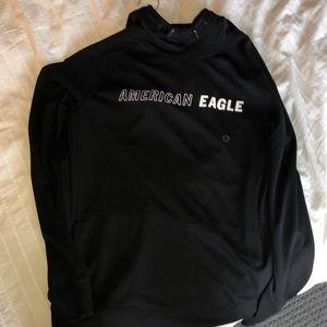 black american eagle shirt/sweater